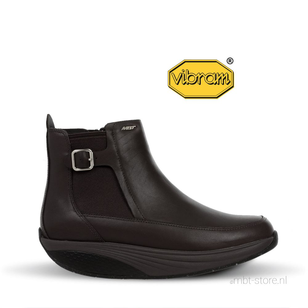 Chelsea Boot W Forest Brown