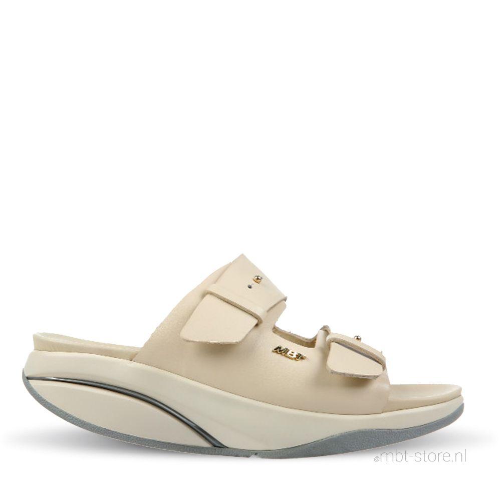 Kimana w beige nappa slipper